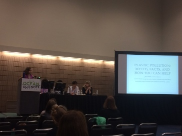 """Jennifer Brandon (CCE), """"Plastic Pollution: Myths, Facts, and How You Can Help"""": Presenting a popular but poorly understood topic to broad and diverse audiences."""